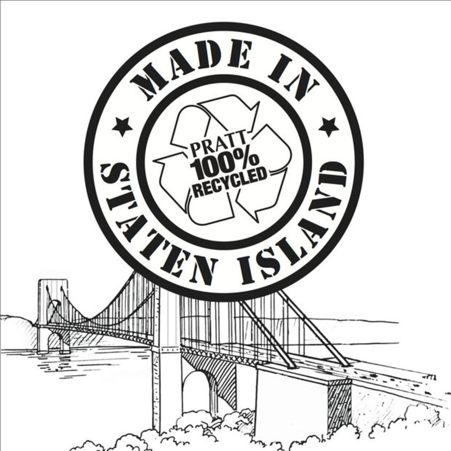 "The city will distribute a new, limited edition pizza box emblazoned with a ""Made in Staten Island"" logo."