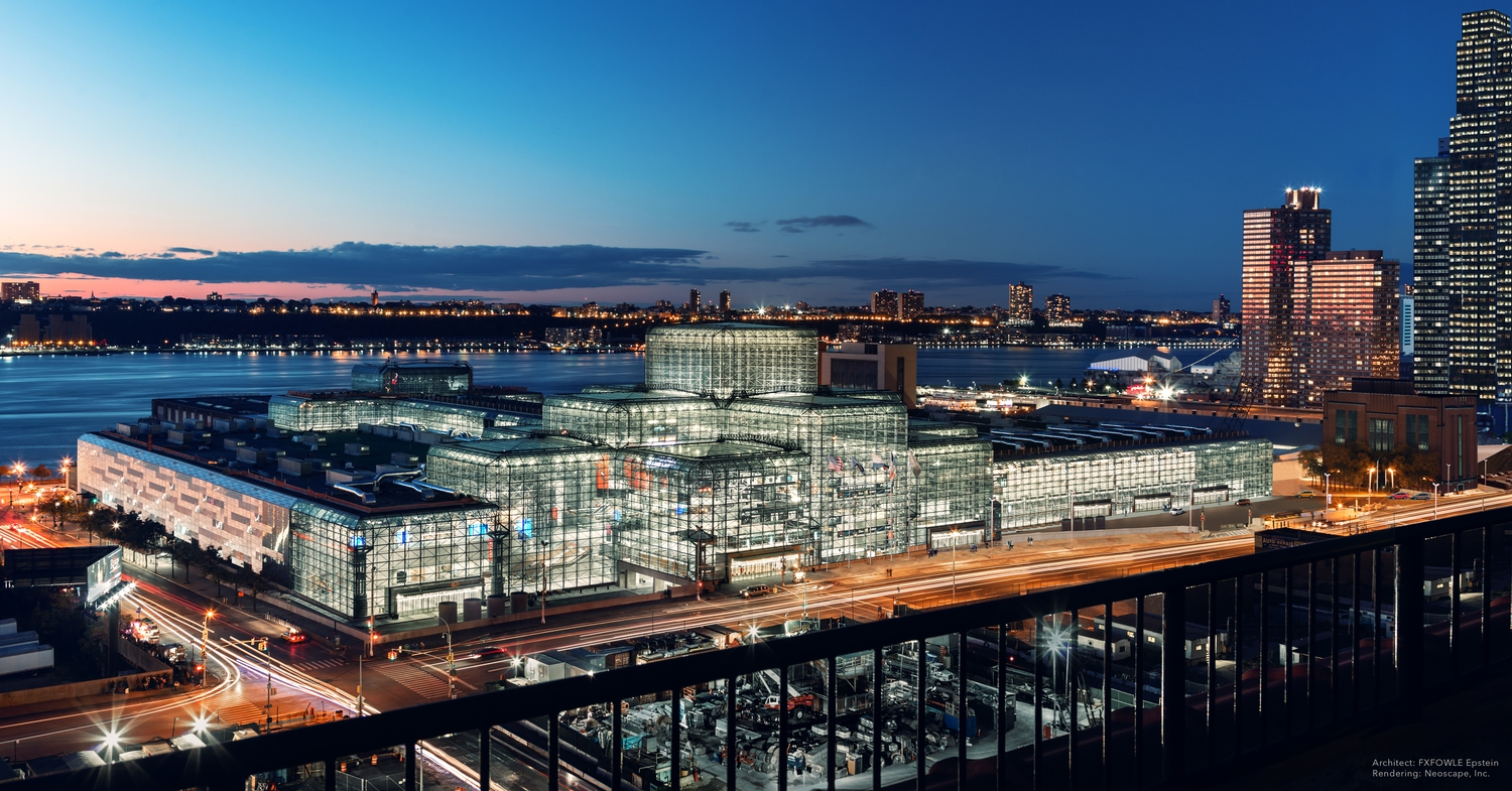 Javits Center Renderings: Exterior Before Condition