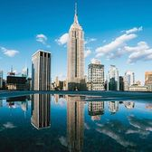 Empire State Building, New York, New York. Photo via @ryanmillier #viewingnyc #newyorkcity #newyork