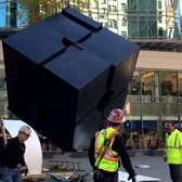 "Return of the Astor Place Cube ""Alamo"" in NYC - November 1, 2016"