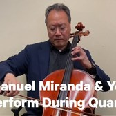 Lin-Manuel Miranda and Yo-Yo Ma Perform For The Internet During Coronavirus Isolation | NowThis