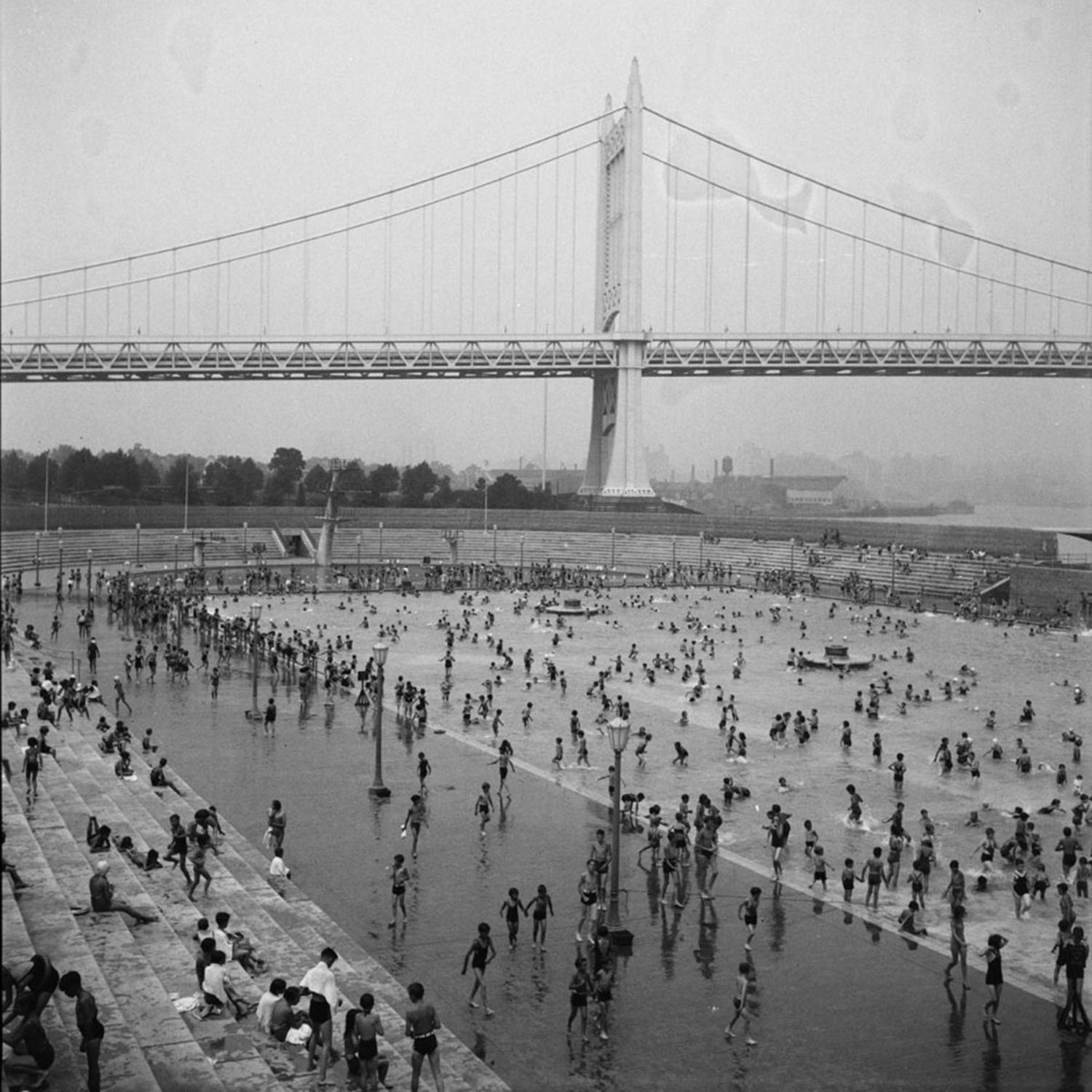 Astoria Pool, Queens, 1936.