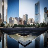 World Trade Center Memorial, New York. Photo via @dario.nyc #viewingnyc #newyorkcity #newyork
