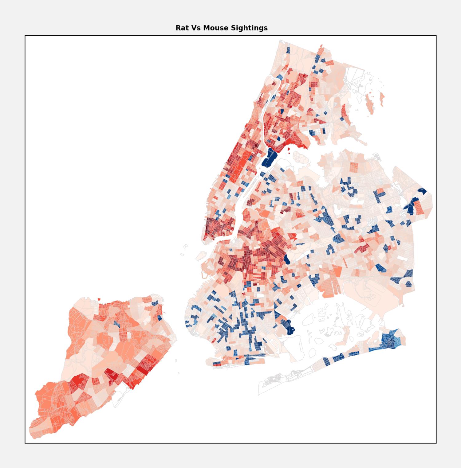 NYC Rat vs. Mice sightings