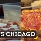 Pizza Battle: New York vs. Chicago