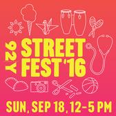 92Y Street Fest '16