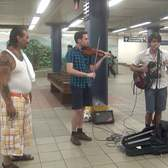 Composers Go Busking in Subway