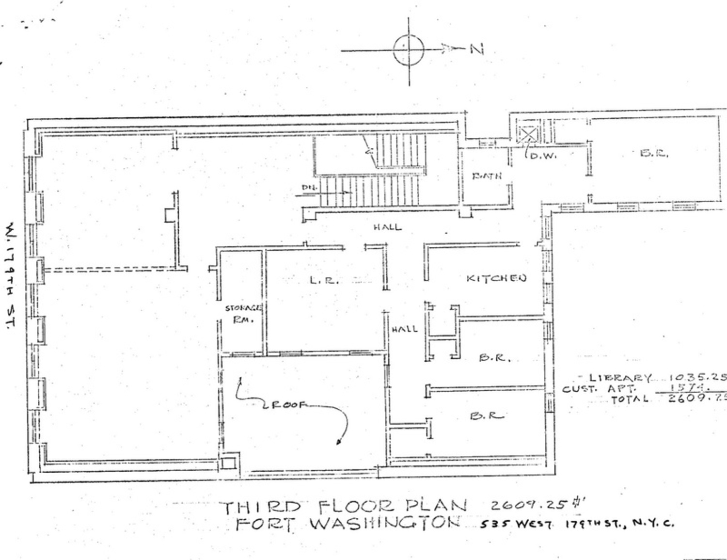 Fort Washington plan.