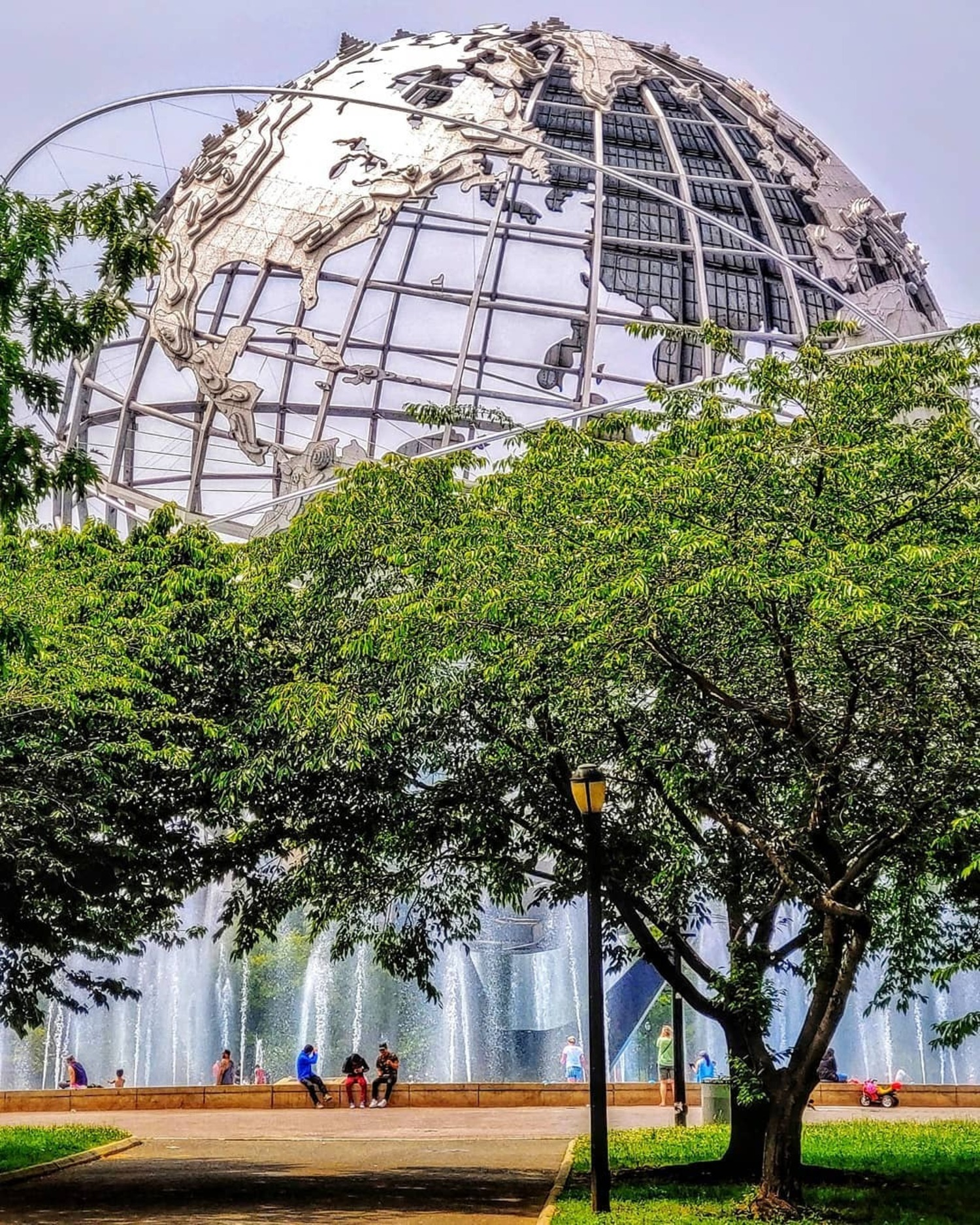 The Unisphere at Flushing Meadows-Corona Park, Queens