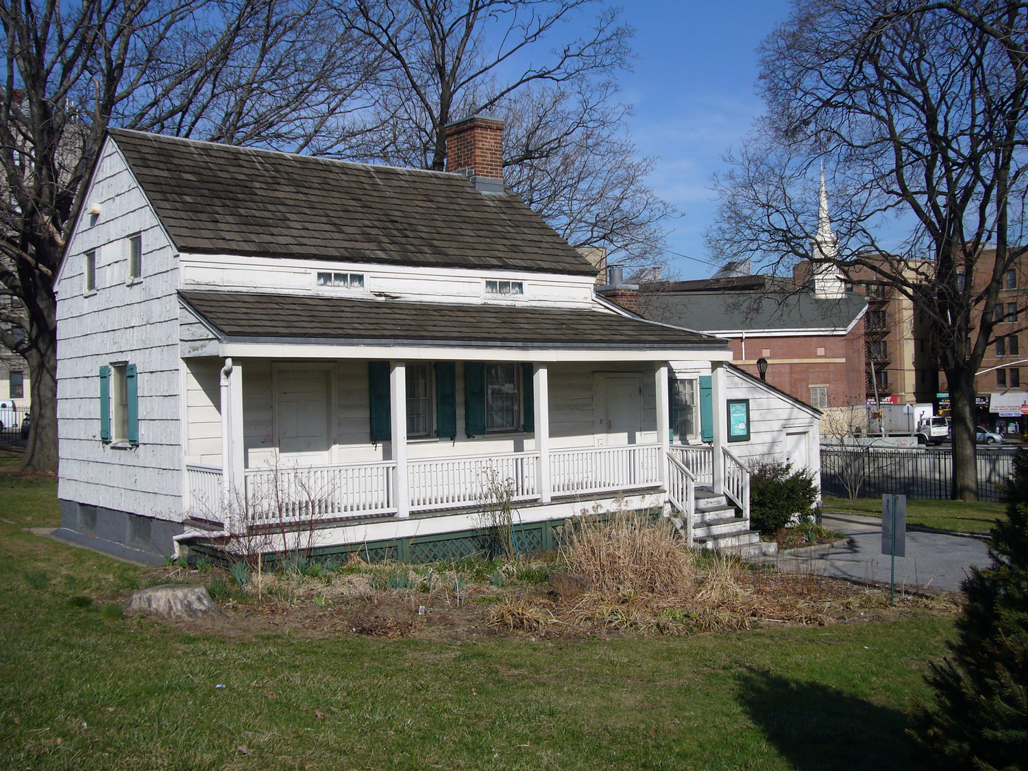 "Edgar Allen Poe cottage | The final home of Edgar Allen Poe. On the Grand Concourse in the Bronx. <a href=""http://www.nycgovparks.org/sub_about/parks_divisions/historic_houses/hh_edgar_allan_poe.html"" rel=""nofollow"">more</a>"