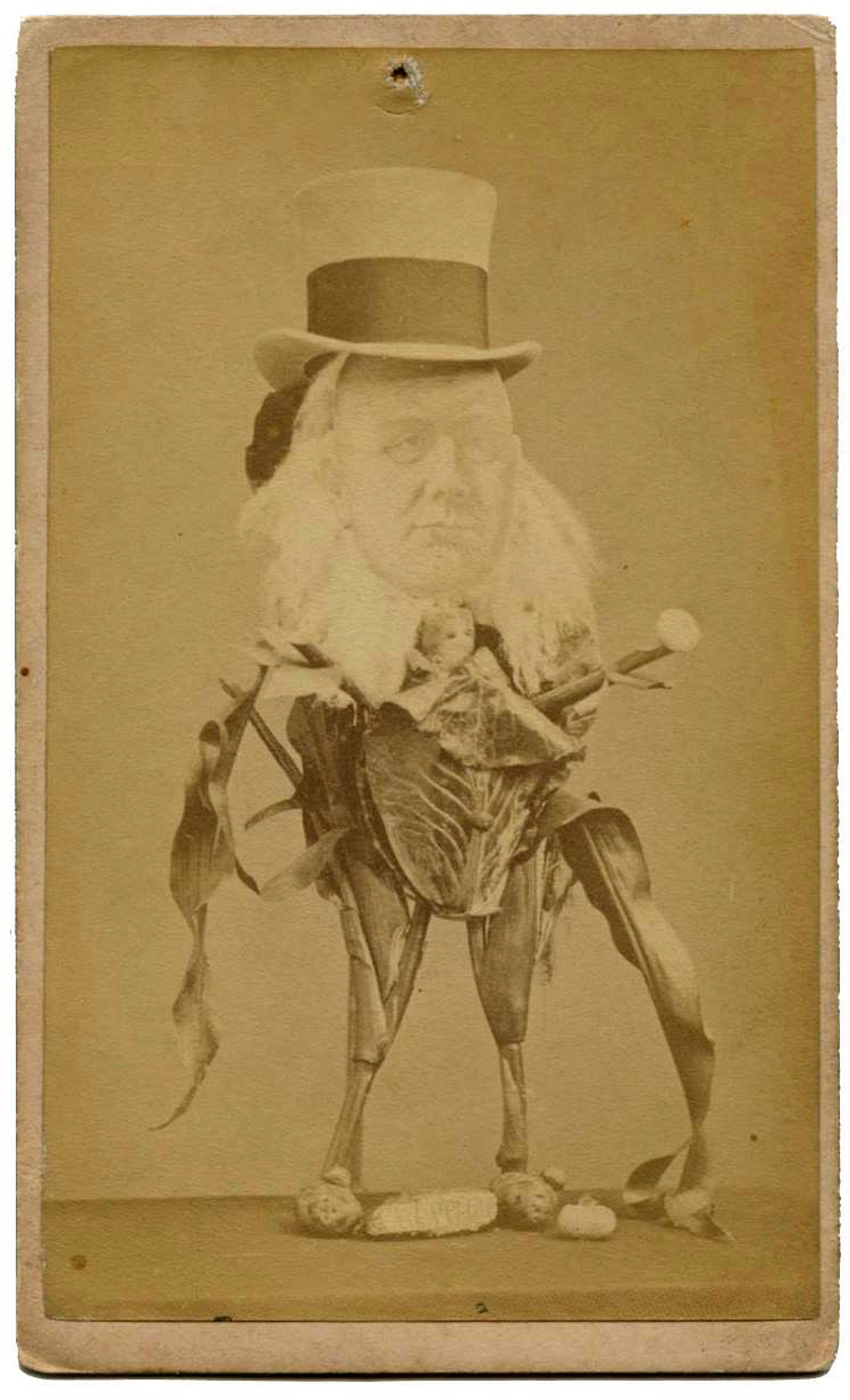 Carte De Visite c.late 19th century.