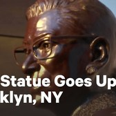 Ruth Bader Ginsburg Statue Unveiled in Brooklyn