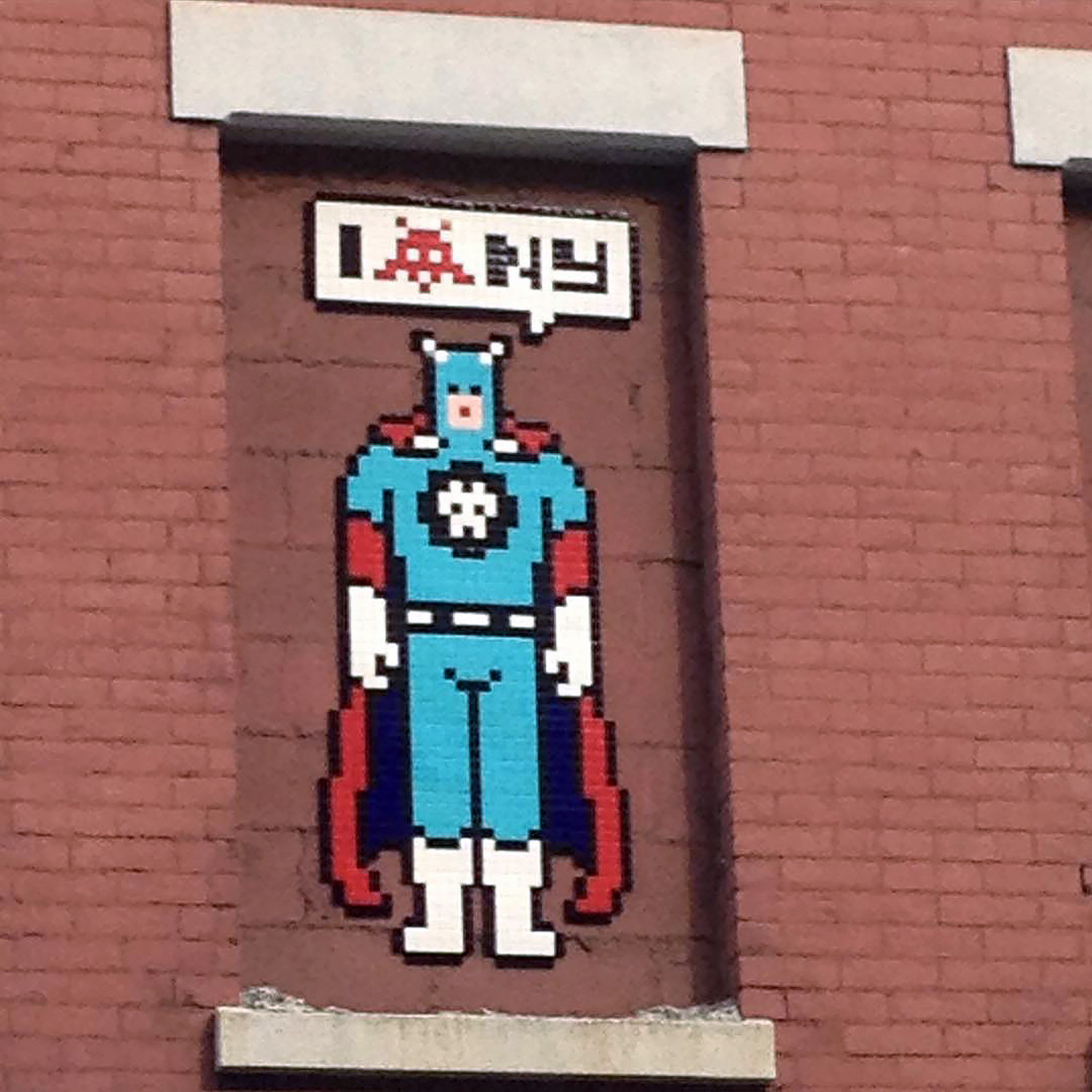 "Invader's ""NY_147"" in Little Italy"