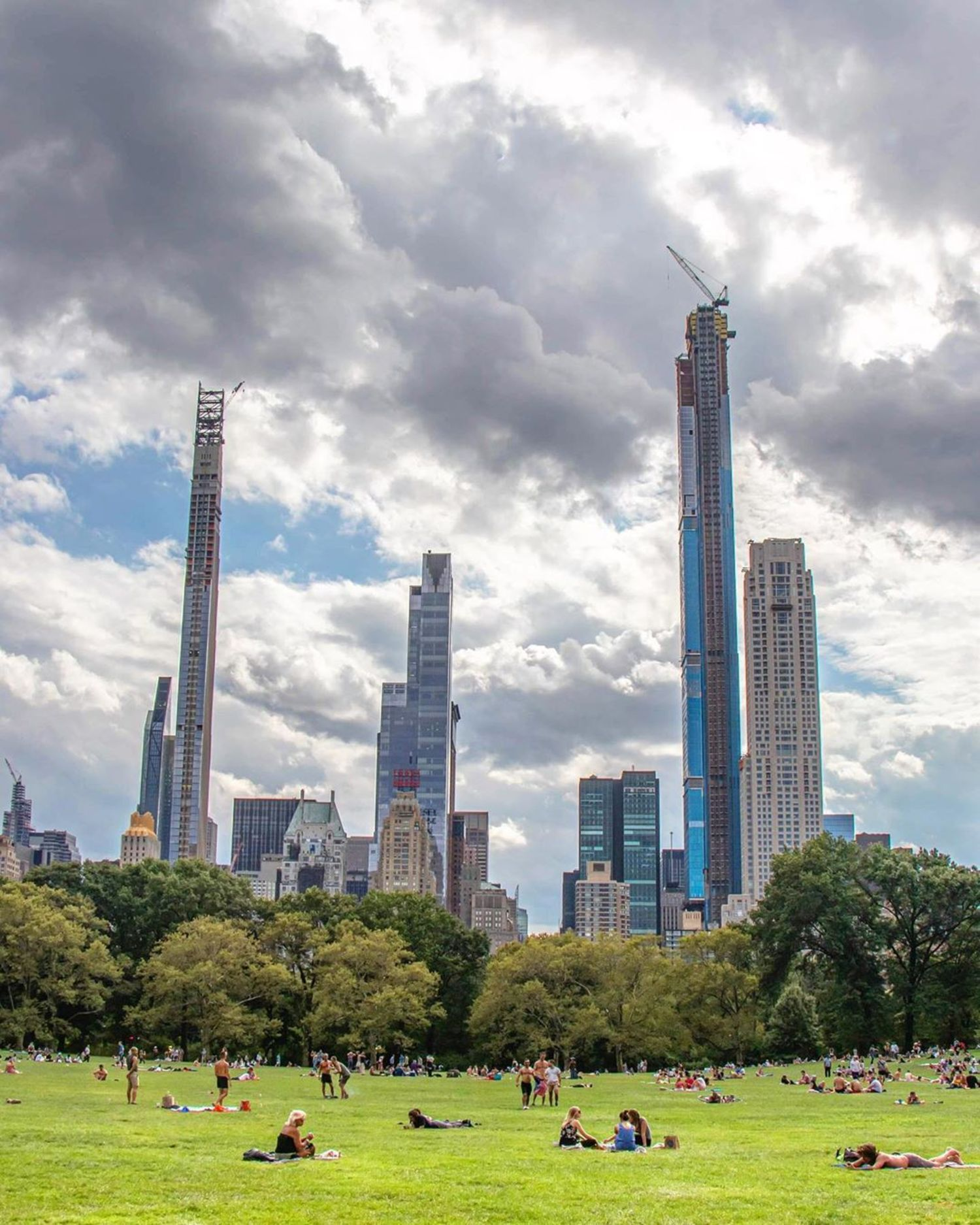 Sheep Meadow, Central Park, Manhattan