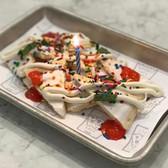 Birthday fiesta nachos