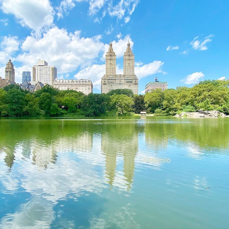 Central Park Lake, Central Park, Manhattan
