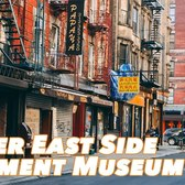 New York City's Tenement Museum Tour