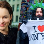 Emilia Clarke Pranks Times Square as Undercover Jon Snow (Game of Thrones) // Omaze