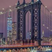 Manhattan Bridge from DUMBO, Brooklyn