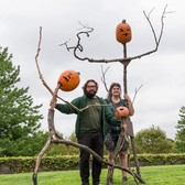 Scarecrows & Pumpkins Return to the Garden