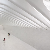 Inside Santiago Calatrava's WTC Transportation Hub in New York