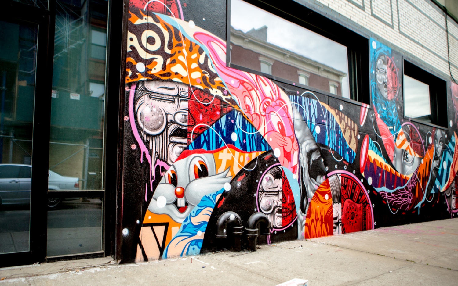 Tristan Eaton, HOW & NOSM, and Cyrcle All Worked Together on a New Mural in Williamsburg