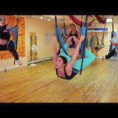 Aerial yoga takes Staten Islanders to new heights