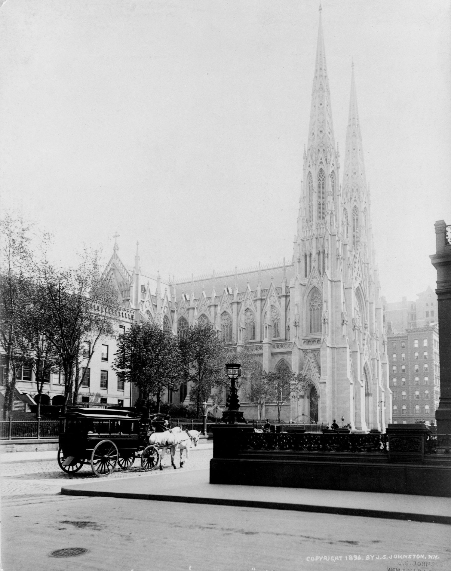 St. Patricks Cathedral circa 1894