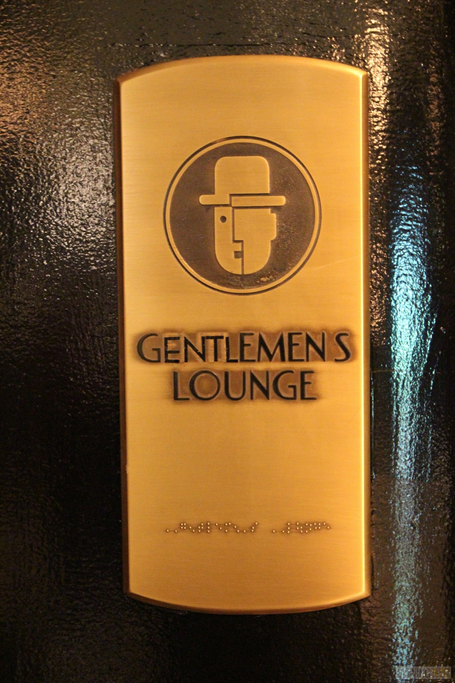 "Gentlemens Lounge Brass Plate | Built in 1932, Radio City Music Hall is a prime example of art deco architectural style that has withstood the test of time. With tons of gold, reflective surfaces and geometric design, walking through the venue is a bit like stepping back in time. Most of the fixtures, furniture and ornamentation are original, and any replacements are exact replicas of how the theater looked 80 years ago.  Read more here: <a href=""https://viewing.nyc/i-braved-a-walkthrough-of-radio-city-music-hall-meant-for-tourists/"" rel=""nofollow"">viewing.nyc/i-braved-a-walkthrough-of-radio-city-music-ha...</a>"