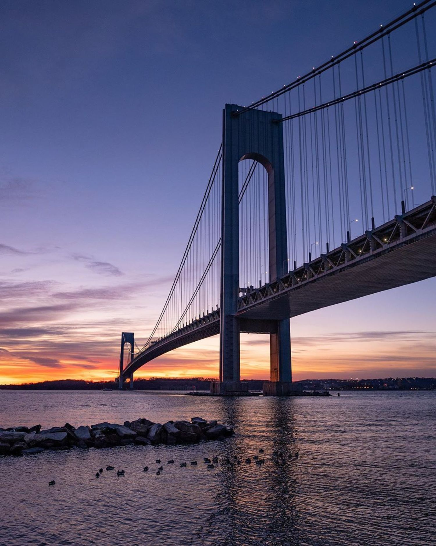 Verrazzano-Narrows Bridge, Brooklyn—Staten Island, New York