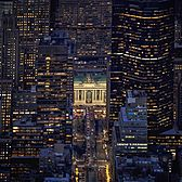 Grand Central and Park Avenue, Midtown, Manhattan