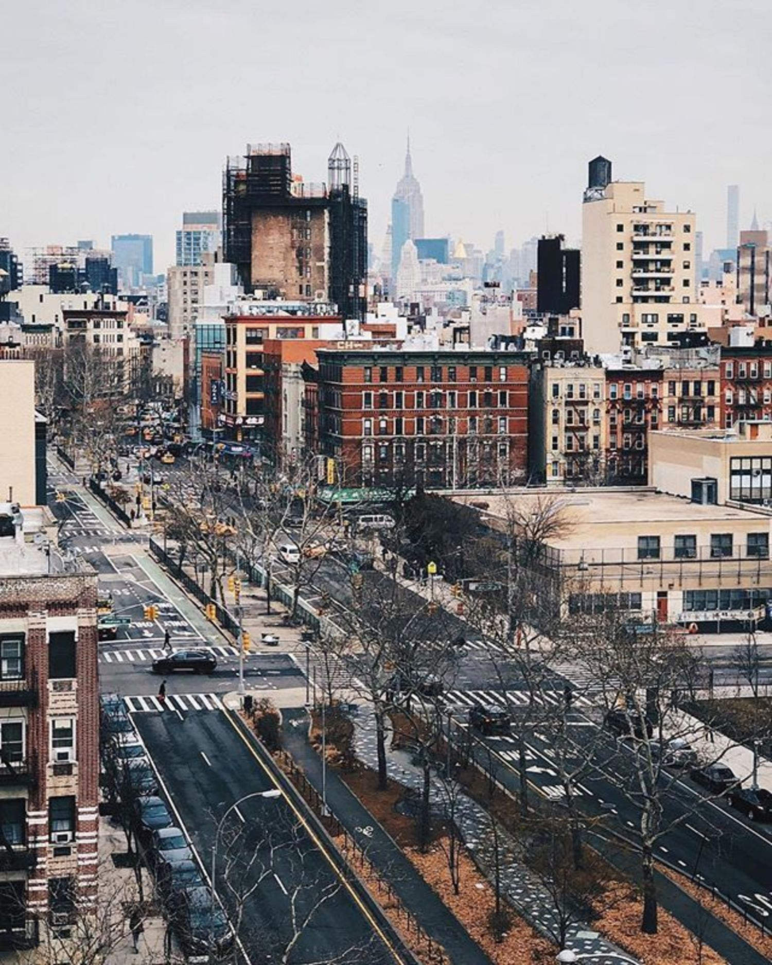 Lower East Side, New York, New York. Photo via @melliekr #viewingnyc #newyork #newyorkcity #nyc