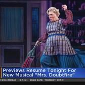 'Jagged Little Pill,' 'Mrs. Doubtfire' Return To Broadway