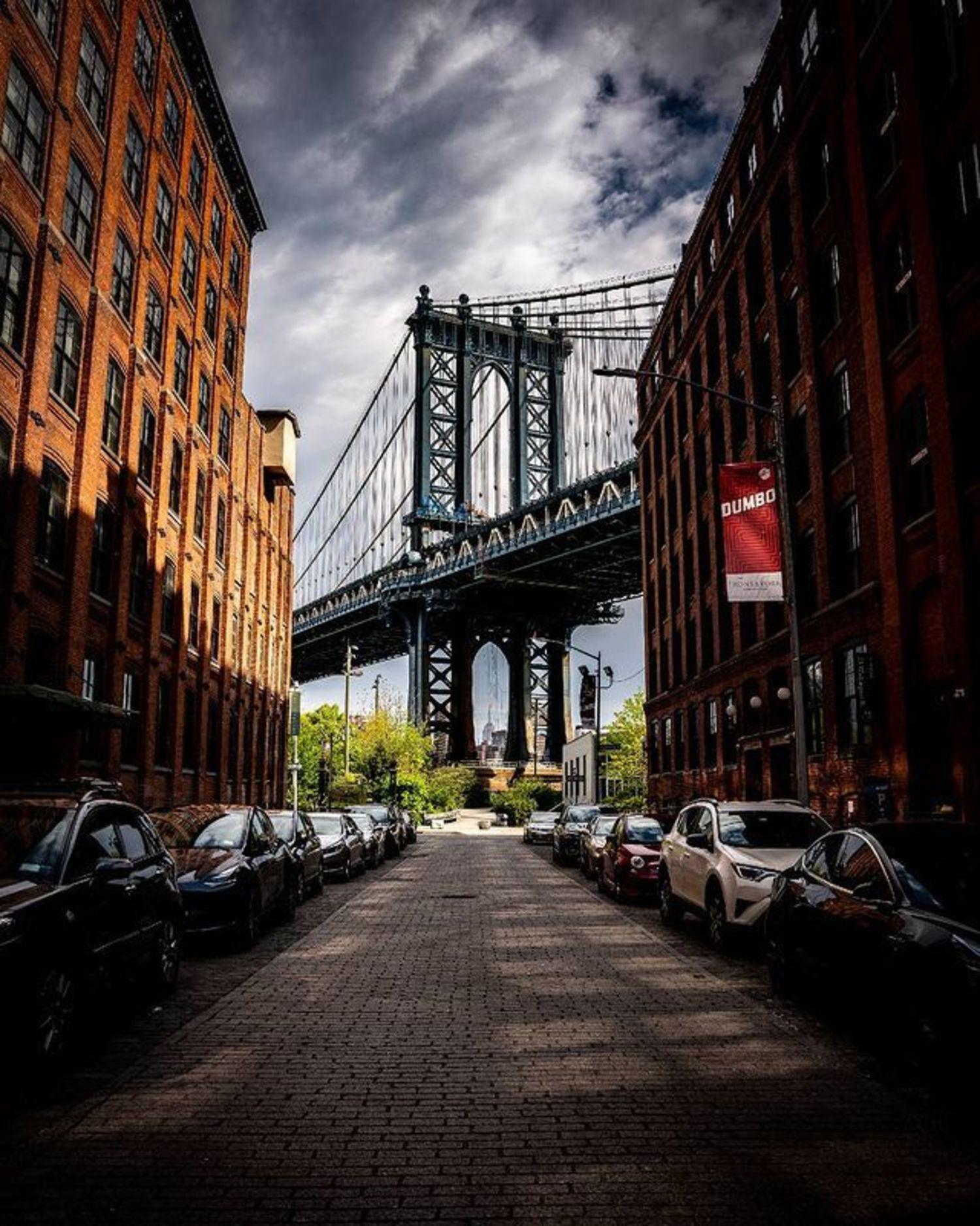 Water Street and Washington Street, DUMBO, Brooklyn