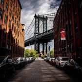 Water Street and Washington Street, DUMBO, Brooklyn