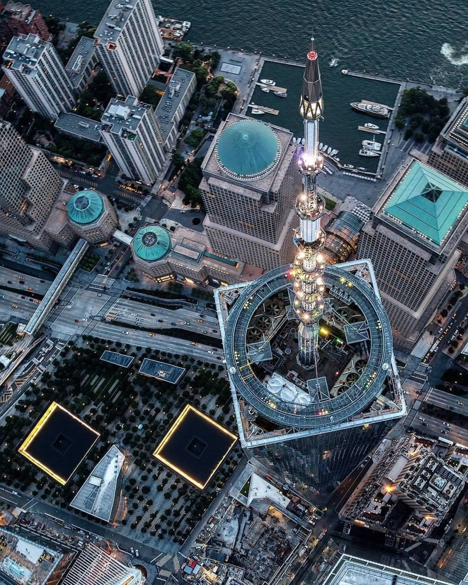 9/11 Memorial Plaza, Financial District, Manhattan