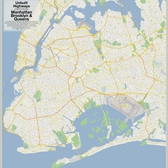 Unbuilt Highways of Manhattan Brooklyn & Queens | Unbuilt Highways as proposed by Robert Moses in the New York City Boroughs of Manhattan, Brooklyn & Queens: Lower Manhattan Expressway. Mid-Manhattan Expressway, Clearview Expressway, Astoria Expressway, Nassau Expressway, Bushwick Expressway, Queens-Interboro Expressway, Cross Brooklyn Expressway, Cross Harlem Expressway, & Prospect Expressway Extension Map data © Google | Created by vanshnookenraggen © 2009