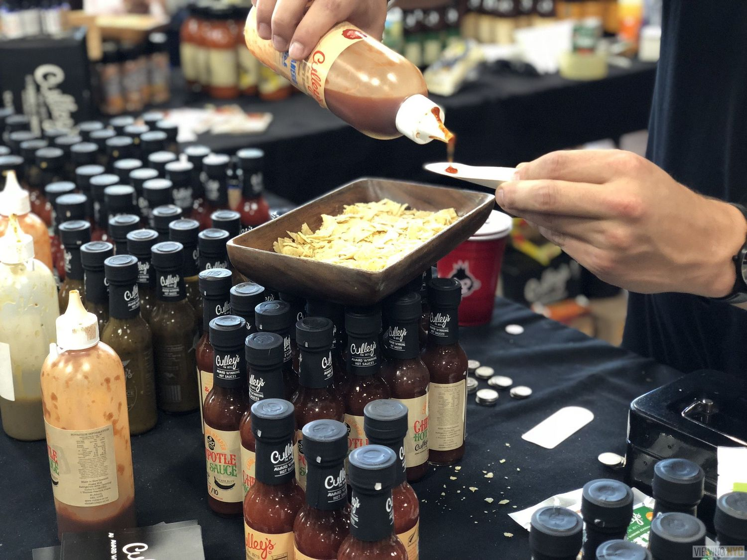 Culley's Booth | 2018 New York City Hot Sauce Expo