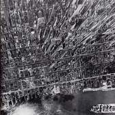 Midtown Manhattan, Looking West from the East River, July 1944