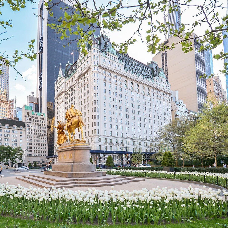 Grand Army Plaza and Plaza Hotel, Manhattan