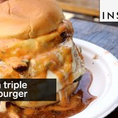 This is the triple cheeseburger of your dreams