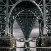 Under the Williamsburg Bridge, Brooklyn