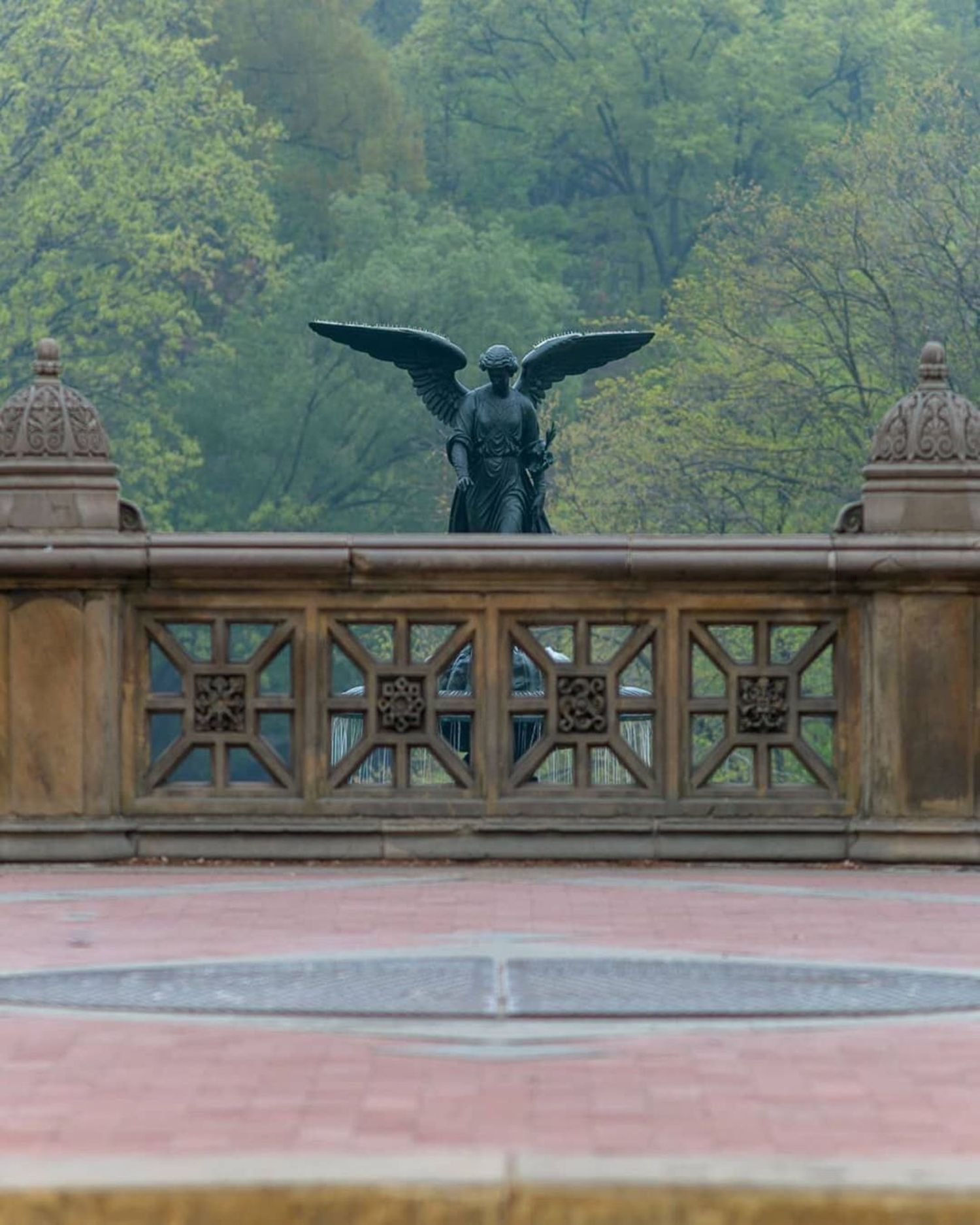 Bethesda Terrace, Central Park, Manhattan.