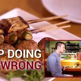 How to Eat Food on a Skewer - Stop Doing it Wrong, Episode 55