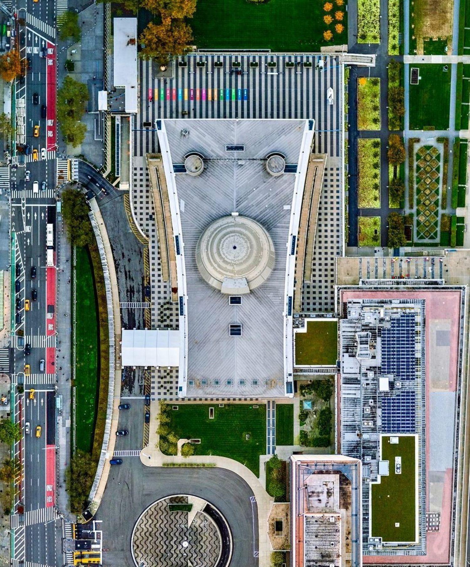 United Nations Headquarters, Midtown East, Manhattan