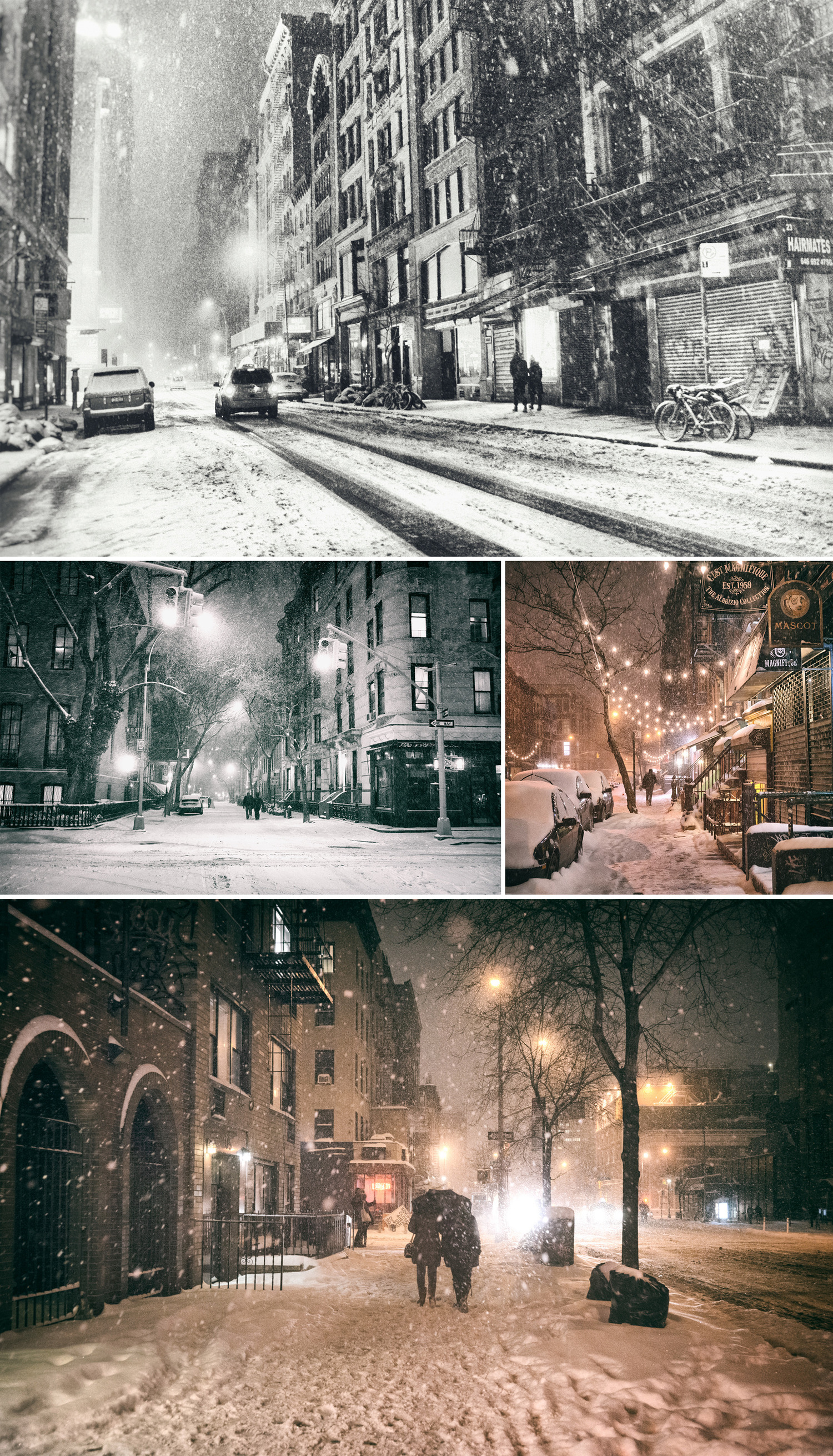 Winter nights are when nostalgia wraps around you like a blanket