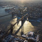 Sunrise Over Brooklyn, New York
