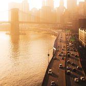 Lower Manhattan from Manhattan Bridge, New York