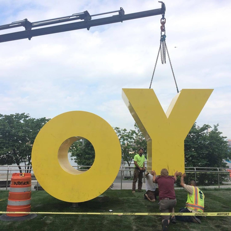 #OYYO #publicart #sculpture #brandnewgallery #brandnewgallerymilan