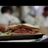Behind the Pastrami Counter at Katz's Deli